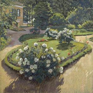 A Garden, 1910 by Sergei Arsenyevich Vinogradov