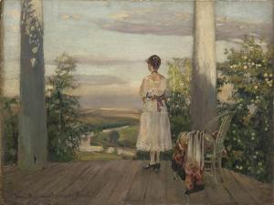 Country House of Anton Chekhov at Melikhovo, 1910S by Sergei Arsenyevich Vinogradov