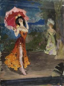 Dancer, Early 1900s by Sergei Arsenyevich Vinogradov