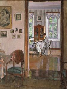 In a House, 1910 by Sergei Arsenyevich Vinogradov