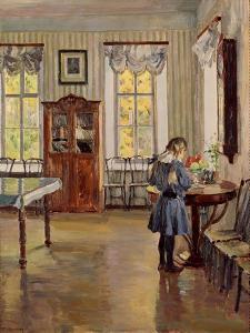 In a House, 1913 by Sergei Arsenyevich Vinogradov