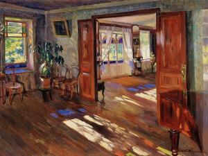 In a House, 1914 by Sergei Arsenyevich Vinogradov