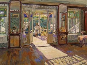 In a House by Sergei Arsenyevich Vinogradov
