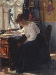 In a Study by Sergei Arsenyevich Vinogradov