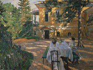In Summer, 1909 by Sergei Arsenyevich Vinogradov