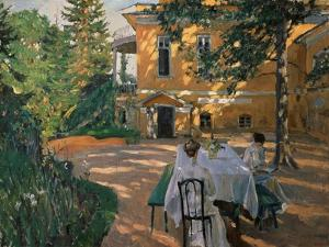 In Summer by Sergei Arsenyevich Vinogradov
