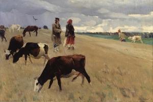 On the Stubblefield, 1896 by Sergei Arsenyevich Vinogradov