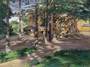 Savva Mamontov's Estate Abramtsevo by Sergei Arsenyevich Vinogradov