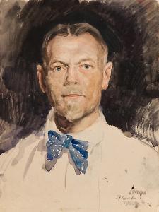 Self-Portrait, 1922 by Sergei Arsenyevich Vinogradov