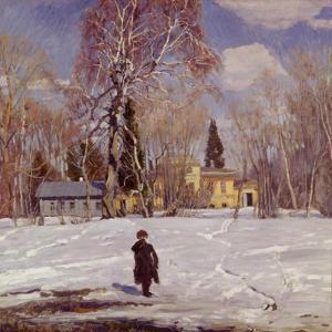 Spring, 1911 by Sergei Arsenyevich Vinogradov