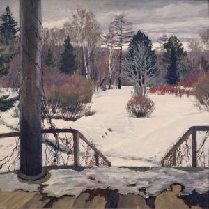 Spring Is Coming, 1911 by Sergei Arsenyevich Vinogradov