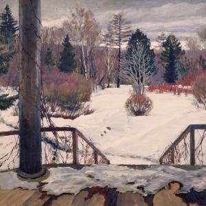 Spring Is Coming by Sergei Arsenyevich Vinogradov