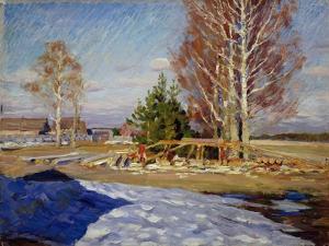 Spring Landscape, 1915 by Sergei Arsenyevich Vinogradov