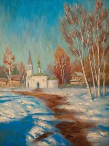 Spring Landscape by Sergei Arsenyevich Vinogradov
