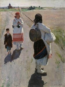 To the Work, 1895 by Sergei Arsenyevich Vinogradov
