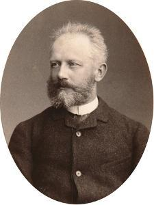 Peter Tchaikovsky, Russian Composer, Late 19th Century by Sergei Levitsky