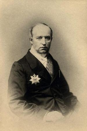 Composer and Writer Prince Vladimir Fyodorovich Odoevsky (1803-186), 1860S