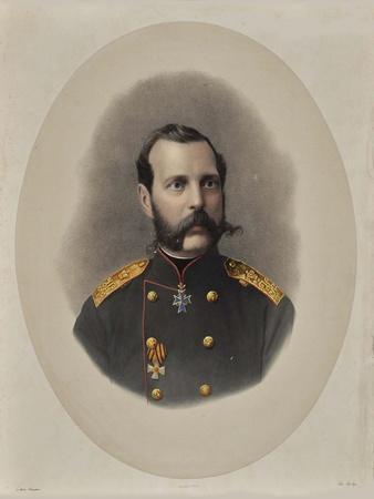 Portrait of Emperor Alexander II of Russia (1818-188), 1860S