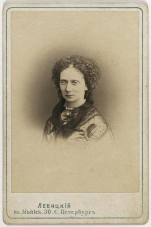 Portrait of Empress Maria Alexandrovna of Russia (1824-188)