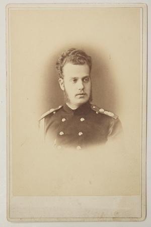 Portrait of Grand Duke Alexei Alexandrovich of Russia (1850-190), 1870S