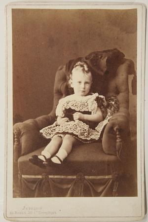 Portrait of Grand Duke George Alexandrovich of Russia (1871-189), 1870s