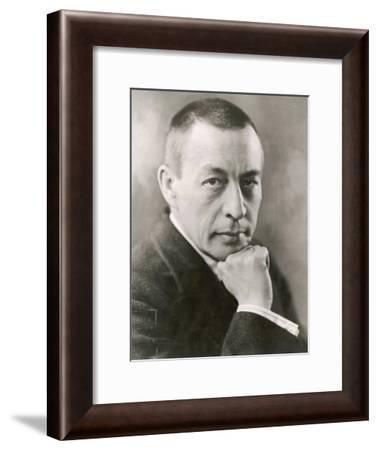 Sergei Rachmaninov Russian Composer--Framed Photographic Print