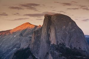 Half Dome at Sunset in Yosemite National Park in California's Sierra Nevada Mountain Range by Sergio Ballivian