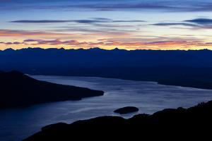 Lake Teanau as Seen from the Kepler Trak in Fiordland National Park in New Zealand's South Island by Sergio Ballivian