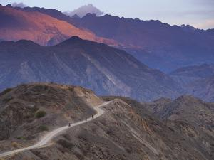 Motorcycling South on Dirt Roads from Cohoni to Teneria in the C by Sergio Ballivian