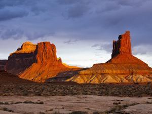 The White Rim Trail in Canyonlands National Park, Near Moab, Uta by Sergio Ballivian