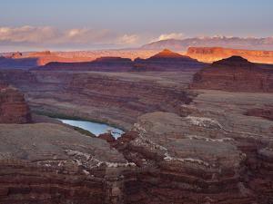 The White Rim Trail in Canyonlands National Park, Near Moab, Utah by Sergio Ballivian
