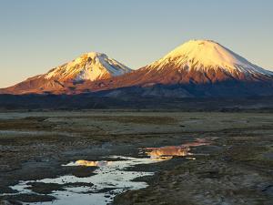 Volcanoes Bolivia's Sajama Nat Park, Northern Chile by Sergio Ballivian