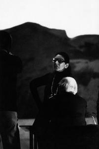Maria Callas as Director of Les Vepres Siciliennes in Turin by Sergio del Grande
