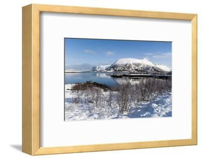 Along the National Tourist Road, Lofoten Islands, Arctic, Norway, Scandinavia