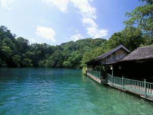 Blue Lagoon, Port Antonio, Jamaica, West Indies, Central America by Sergio Pitamitz