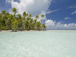 Blue Lagoon, Rangiroa, Tuamotu Archipelago, French Polynesia Islands by Sergio Pitamitz