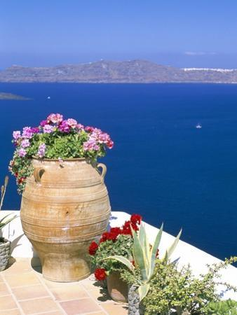 Fira, Island of Santorini (Thira), Cyclades Islands, Aegean, Greek Islands, Greece, Europe by Sergio Pitamitz
