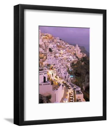 Fira, Island of Santorini (Thira), Cyclades Islands, Aegean, Greek Islands, Greece, Europe