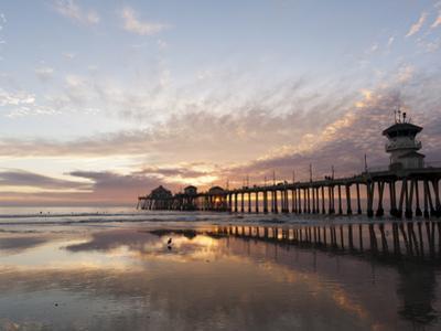 Huntington Beach Pier, California, United States of America, North America by Sergio Pitamitz