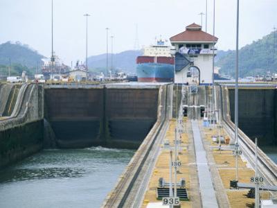 Miraflores Locks, Panama Canal, Panama, Central America by Sergio Pitamitz
