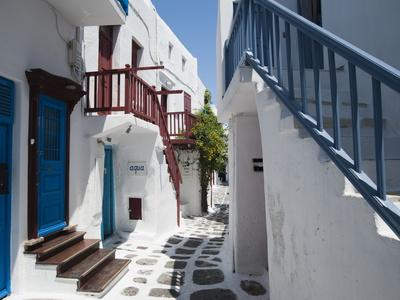 Mykonos Town, Chora, Mykonos, Cyclades, Greek Islands, Greece, Europe