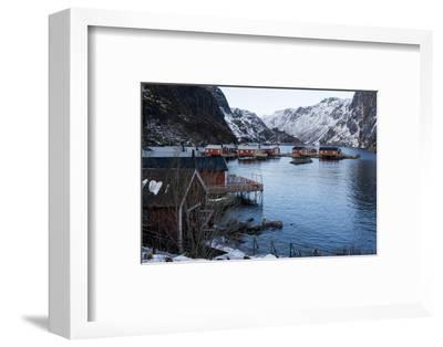 Nusfjord, Lofoten Islands, Arctic, Norway, Scandinavia