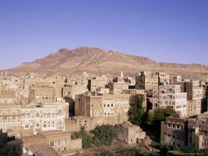 Old Town, Sana'A, Unesco World Heritage Site, Republic of Yemen, Middle East by Sergio Pitamitz