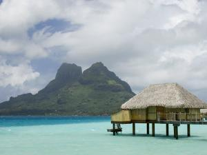 Pearl Beach Resort, Bora-Bora, Leeward Group, Society Islands, French Polynesia by Sergio Pitamitz