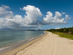 Pinney's Beach, Nevis, St. Kitts and Nevis, West Indies, Caribbean, Central America by Sergio Pitamitz