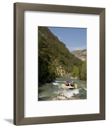Rafting on Verdon River, Gorges Du Verdon, Provence, France, Europe