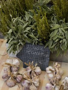 Rosemary and Garlic, Moustiers-Sainte-Marie, Provence, France by Sergio Pitamitz