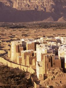 Shibam, Unesco World Heritage Site, Hadramaut, Republic of Yemen, Middle East by Sergio Pitamitz