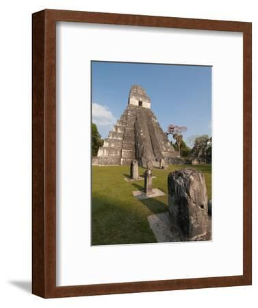 Temple I and the Great Plaza at Tikal