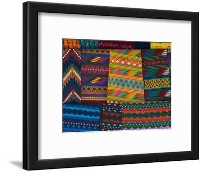 Textiles, Santiago Atitlan, Lake Atitlan, Guatemala, Central America